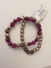 Lucky Brand Gifting Collection. Gold & Ruby Bracelet $39 812a