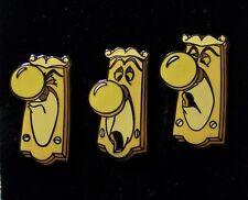 Disney Pin Alice in Wonderland 3 Door Knob Set