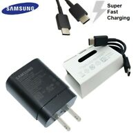 Samsung Galaxy Note 10 Super Fast Charger 25W Wall Adapter and USB-C Cable TA800