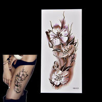 2x Fashion Removable Waterproof Temporary Plum Blossom Body Tattoo Sticker BBfw