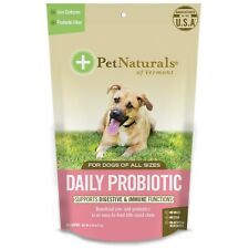 Pet Naturals Daily Probiotic for Dogs 60ct. Free Shipping