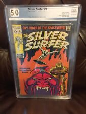 Silver Surfer #6 (Jun 1969) pgx 5.0 1ST APP OF OVERLORD..Worlds Without End!
