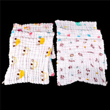 Soft Cotton Baby Infant Newborn Bath Towel Washcloth Feeding Wipe Cloth BL