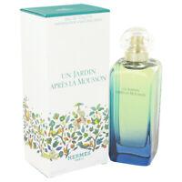 Un Jardin Apres La Mousson by Hermes Eau De Toilette Spray 3.4 oz for Women
