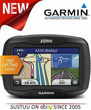 Garmin Zumo 345LM UK W.Europe GPS SATNAV Motorcycle Bike Lifetime Map Updates