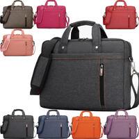 """Zipper Laptop Shoulder Bag Business Messenger Handbag Briefcase Cover 12""""-17"""""""