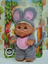 "1985 SQUEEK THE MOUSE - 3"" Dam Norfin Troll Doll Wildlife Series - NEW"