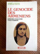 1915 Le Genocide Des Armeniens TURKEY Armenians ARMENIAN Chaliand/ Ternon FRENCH