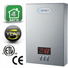 Marey Electric Tankless Water Heater, ECO240 220V/240V 24kW. Fast, Free shipping