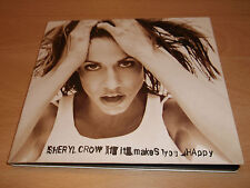 "SHERYL CROW "" IF IT MAKES YOU HAPPY "" CD DIGIPAK SINGLE - VERY GOOD"