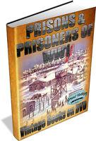PRISONS & PRISONERS OF WW1 ~ Vintage Books on DVD ~ Prison Camps, Ruhleben, War