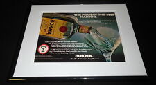 1980 Bokma Jenever Martini Framed 11x14 ORIGINAL Vintage Advertisement