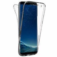 "Cover Custodia Gel Silicone Doppio 360 360º Per Huawei P9 Lite (4G) 5.2"""