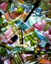 SALE 60+carats Lot Natural Tourmaline Rough Needle & Small Crystals MultiColors!