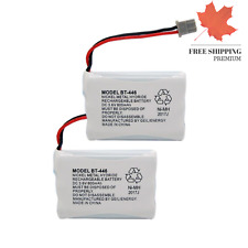 3 6V Ni-MH 800mAh Cordless Home Phone Battery for Uniden BT-446 BP-446 BT-100...