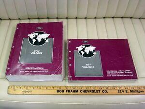 1997 Ford Villager Van 2-Volume Service Shop Manual Set