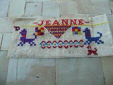 travaux d'enfant modéle de points de tapisserie