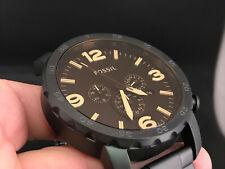 FOSSIL JR1356 CHRONOGRAPH 24 HOURS DUAL TIME DATE W.R 5 ATM QUARTZ MEN'S WATCH