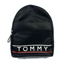 Tommy Hilfiger Black Backpack With Adjustable Straps