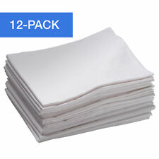 ECR4Kids 12-Pack Toddler Cot Sheet with Elastic Straps for Daycare/Preschool