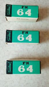 Vintage B&W Negative Film Svema 64 120 print 3 Rolls in lot Expired
