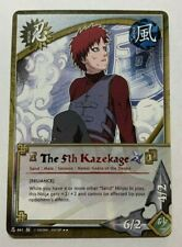 NARUTO CCG TCG THE 5TH KAZEKAGE RAINBOW RARE CARD