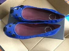 New NIB Marc by Marc Jacobs Sacchetto Mouse Flat SIZE 37 US 7 Blue
