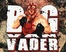 "WWE WRESTLING VADER SIGNED 8x10"" PHOTO WCW WWF LEGEND"