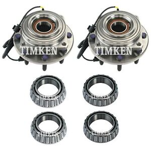 Timken Rear Outer Wheel Bearing /& Race Set for 1999-2012 Ford F-250 Super fx