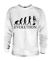 AEROBICS EVOLUTION OF MAN UNISEX SWEATER MENS WOMENS LADIES GIFT EXERCISE