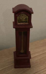 Vintage Sylvanian Families Furniture Grandfather Clock Calico Critters