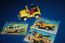 LEGO 5510 MODEL TEAM OFF-ROAD 4X4 complete with instructions & brochure