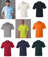 Jerzees 436MPR Men's SpotShield 50/50 Sport Polo Shirt with Pocket Size S-5XL