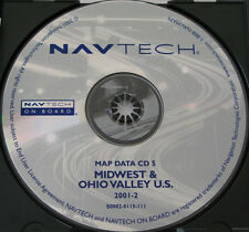 97 98 1999 BMW 740i 740iL 750iL NAVIGATION NAV MAP DISC CD 5 MIDWEST OHIO VALLEY
