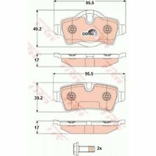 TRW Brake Pad Set, disc brake COTEC GDB1766