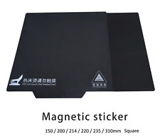 More details for 3d printer 2 part magnetic heat bed sticker flexible plate for square bed