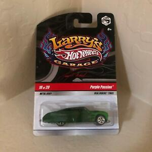 Hot Wheels Larry's Garage Purple Passion #10/20 Real Rider Tires PF6