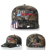 Donald Trump 2020 MAGA Camo Embroidered Hat Keep Make America Great Again Cap