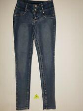 Crocker Jeans - Light Wash Denim No Back Pockets Faux Front Size 5 Skinny