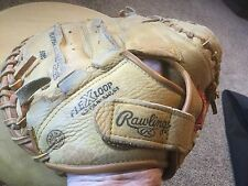 Pre Owned Rawlings Rcm33 Catchers Baseball Mitt. Right Handed Thrower.