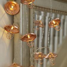 Artículos de iluminación de jardín cobre plástico