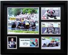 New Mark Webber Signed Limited Edition Memorabilia