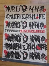 Madonna American Life promo Poster 18x24
