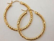c3ff50a2a Unbranded Hoop Yellow Gold 14k Fine Earrings for sale | eBay