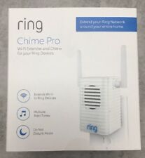 Ring Chime Pro Indoor Chime Wi-Fi Extender for Ring Devices Doorbell SEALED