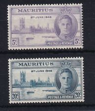 MAURITIUS 1946 Victory Set MNH