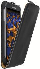 mumbi Leder Tasche Flip Case für Samsung Galaxy S5 Hülle Schutzhülle Etui Case