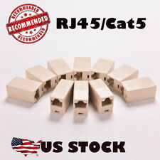 10X RJ45 Cat5e Female to Female Network Ethernet LAN Connector Adapter Coupler