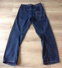 LEVI'S JEANS TWISTED / ENGINEERED CINCH BACK SIZE 30 X 32 RED TAB INDIGO VGC