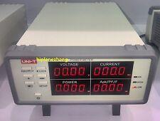 Bench TRMS Voltage Current Power Factor & Power Meter Analyzer Range 3000W RS232